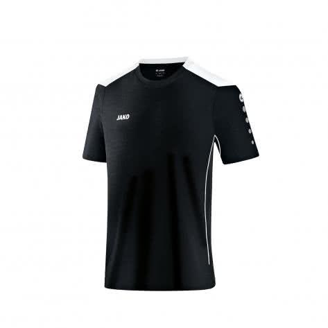 Jako T-Shirt Cup 6183 Schwarz Weiß Größe 116,128,140,152,164,M,S