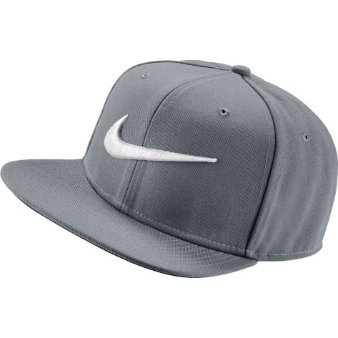 Nike Kappe Swoosh Pro Hat 639534-014 Wolf Grey/Pine Green/Black/White | One size