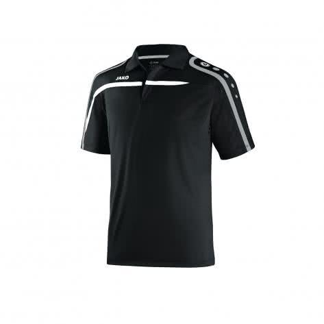 Jako Poloshirt Performance 6397 Schwarz Weiß Größe 140,152,164,34 36,38 40,42 44,L,M,S,XL,XXL,XXXXL