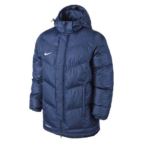 Nike Kinder Winterjacke Team Winter 645907 Obsidian White Größe 128 137