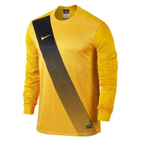 Nike Kinder Langarm Trikot Sash 645913 University Gold Black Größe 122 128,128 137,137 147,158 170