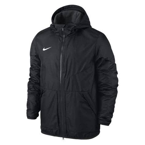 Nike Kinder Jacke Team Fall Jacket 645905 Black Anthracite White Größe 122 128,128 137,137 147,147 158,158 170