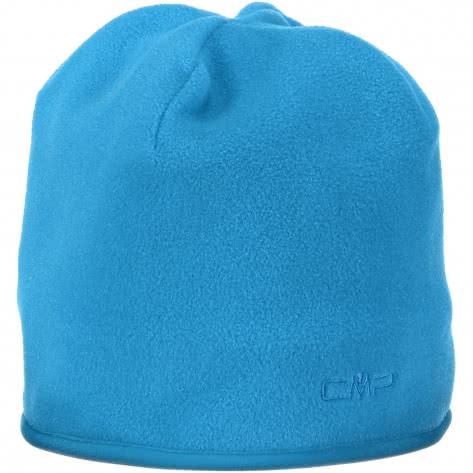 CMP Kinder Mütze Kids Fleece Hat 6504006J BLUE JEWEL Größe One size