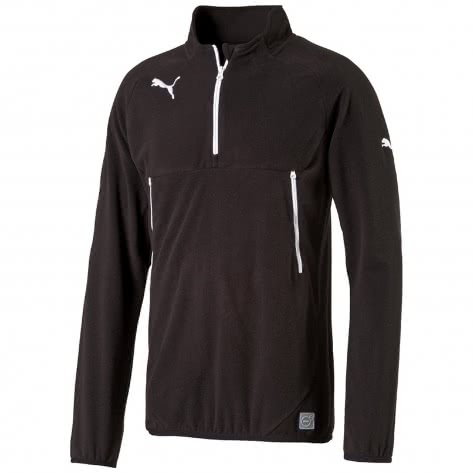 Puma Herren Trainings Top Training Fleece 653808-03 M Black-White | M
