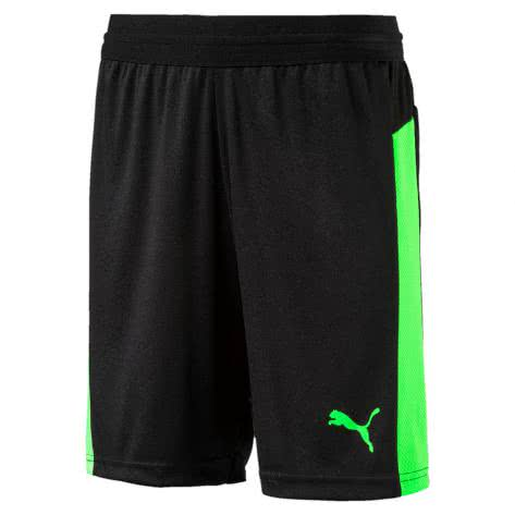 Puma Kinder Short IT evoTRG Jr Shorts 655198 Puma Black Green Gecko Größe 140,164