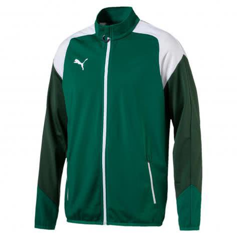 Puma Herren Trainingsjacke Esito 4 Poly Tricot Jacket 655223-05 S Power Green-Puma White-Dark Green | S