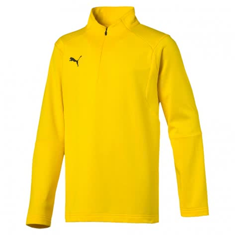 Puma Kinder Trainingstop Liga Training 1/4 Zip Top Jr 655646