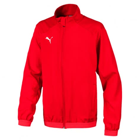 Puma Kinder Trainingsjacke Liga Sideline Jacket Jr 655668