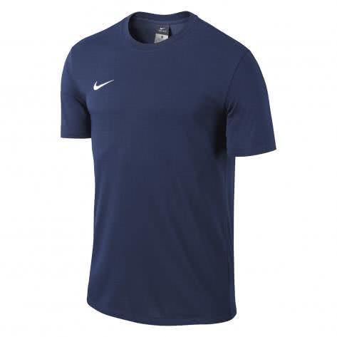 Nike Kinder T-Shirt Team Club Blend Tee 658494 Obsidian White Größe 122 128,137 147