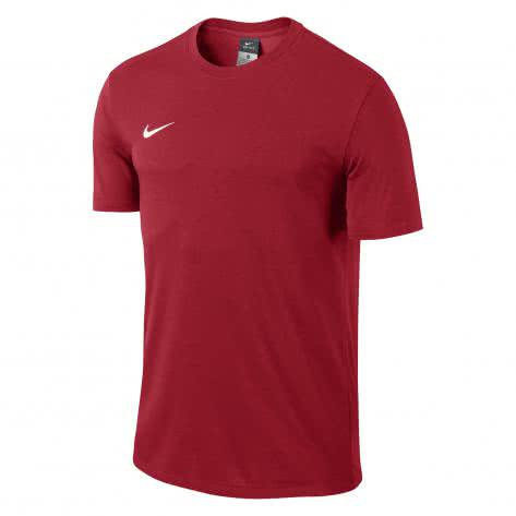 Nike Kinder T-Shirt Team Club Blend Tee 658494 University Red White Größe 122 128,128 137,137 147,147 158,158 170