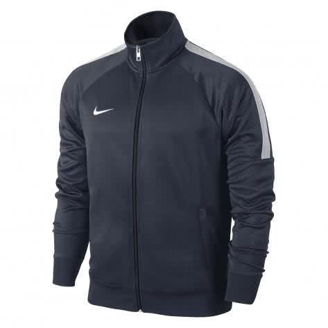 Nike Kinder Trainingsjacke Team Club Trainer Jacket 658940 Obsidian/White Größe: 128-137
