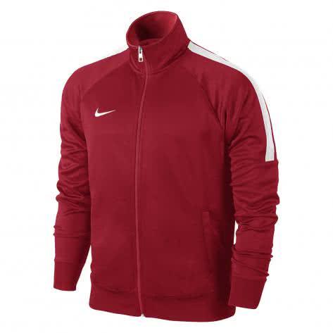 Nike Herren Trainingsjacke Team Club Trainer Jacket 658683-657 XXL University Red/White | XXL
