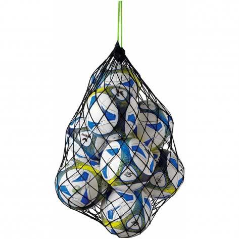 erima Ballnetz für 10 Bälle 723001 Schwarz/Green | One size
