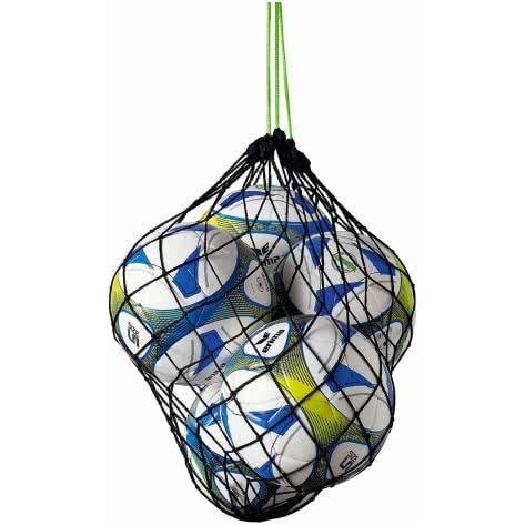 erima Ballnetz für 5 Bälle 723002 Schwarz/Green | One size