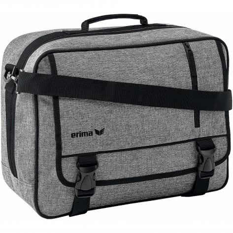 erima Umhängetasche Travel Line Laptop Tasche 7231802 Grau Melange | One size