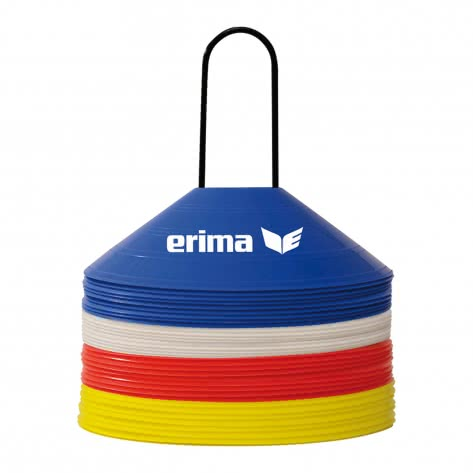 erima Markierungshütchen Set - 40 Stück 724104 Red/Blue/Yellow/White | One size