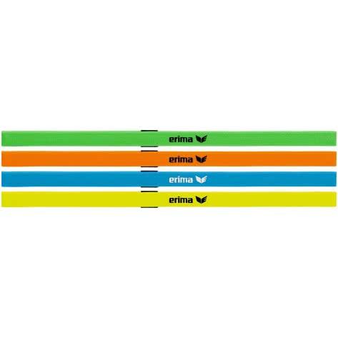 erima Haarbänder 4er Set 7241910 Grün/Orange/Blau/Gelb | One size