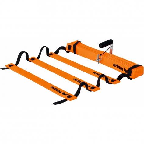 erima Koordinationsleiter Flex 7241913 Neon Orange/Schwarz | One size