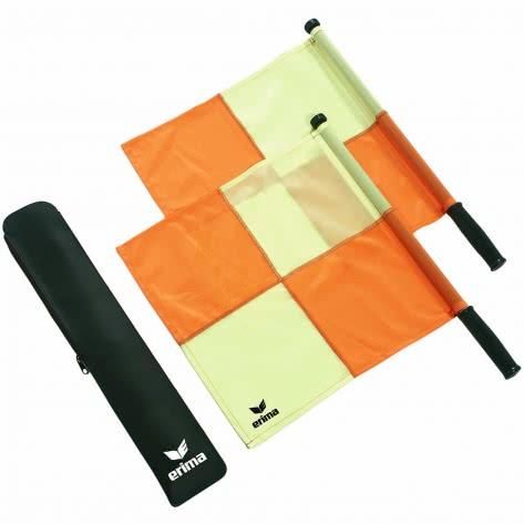 erima Schiedsrichter Fahnen-Set 732310 Gelb/Rot | One size