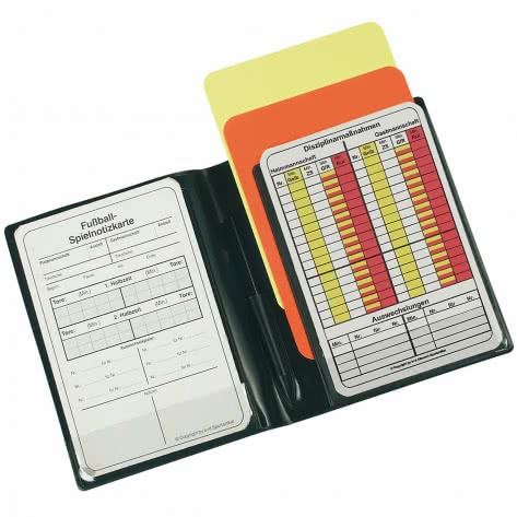 erima Schiedsrichter Mini Set 732311 Schwarz | One size