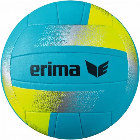 erima Volleyball King of the Beach 7401902 5 Aqua/Gelb | 5