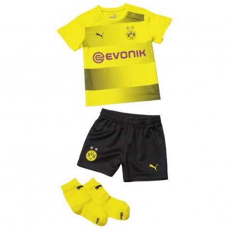 Puma Baby BVB Borussia Dortmund Home Babykit 2017 18 751693 Cyber Yellow Puma Black Größe 56,62,68,74,80