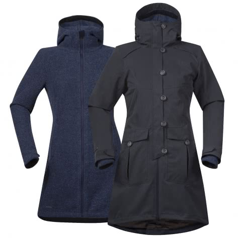 Bergans Damen Mantel Bjerke 3in1 Lady Coat 7525