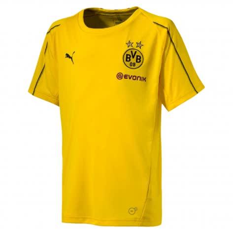 Puma Kinder BVB Borussia Dortmund Trainings Trikot 753359-01 176 Cyber Yellow | 176