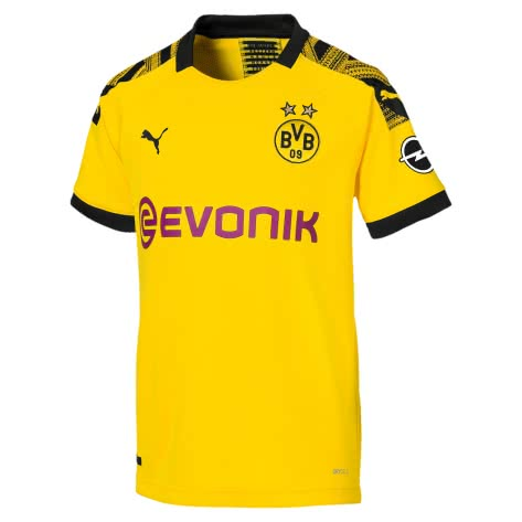 Puma Kinder Borussia Dortmund BVB Home Trikot 2019/20 755738-01 164 Cyber Yellow-Puma Black | 164
