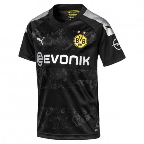 Puma Kinder Borussia Dortmund Away Trikot 2019/20 755746-12 176 Puma Black | 176