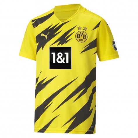 Puma Kinder Borussia Dortmund Home Trikot 20/21 757159-01 140 Cyber Yellow-Puma Black | 140