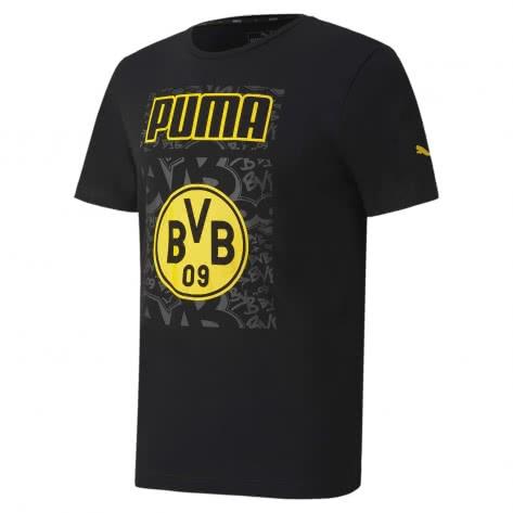 Puma Herren Borussia Dortmund T-Shirt BVB ftblCore Graphic Tee 758089