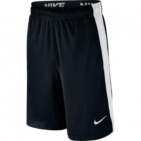 Nike Jungen Short Dry Training Short Fly 803966 Black White Black White Größe 140 152,152 158,158 170