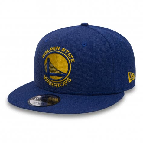 New Era Kappe 9FIFTY Snapback Team Heather 80536659 S/M Golden State Warriors | S/M