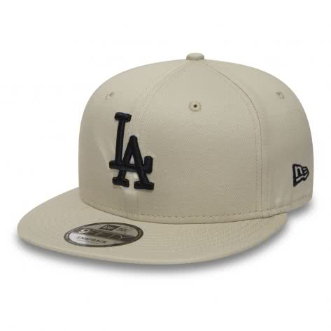 New Era Kappe League Essential 9FIFTY Snapback 80580994 S/M Los Angeles Dodgers - Stone | S/M