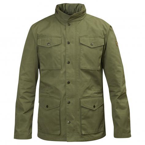 Fjällräven Herren Outdoorjacke Räven Jacket 82422 Green Größe: L