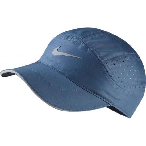Nike Running Kappe AeroBill Cap TW Elite 828617-427 Monsoon Blue/Reflective Silver | One size