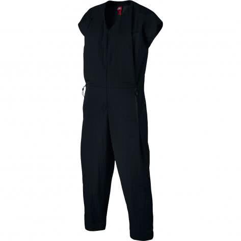 Nike Damen Jumpsuit Woven Bonded 835551-010 S Black/Black | S