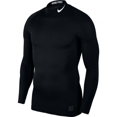 Nike Herren Funktionsshirt Top Compression Mock Long Sleeve 838079