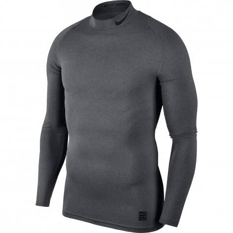 Nike Herren Funktionsshirt Top Compression Mock Long Sleeve 838079
