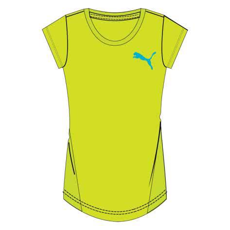 Puma Kinder T-Shirt Active Dry ESS Tee G 838876 Safety Yellow Größe 152,176
