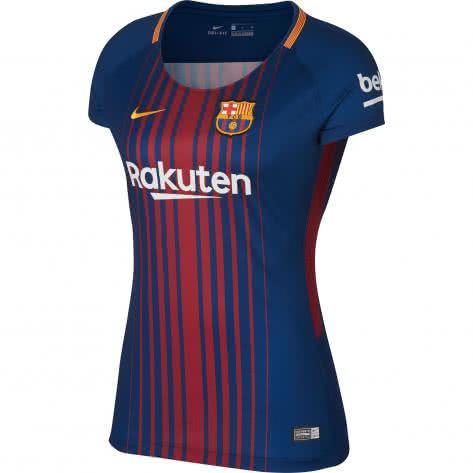 Nike Damen FC Barcelona Home Trikot 2017/2018 847226-456 L Deep Royal Blue/University Gold | L