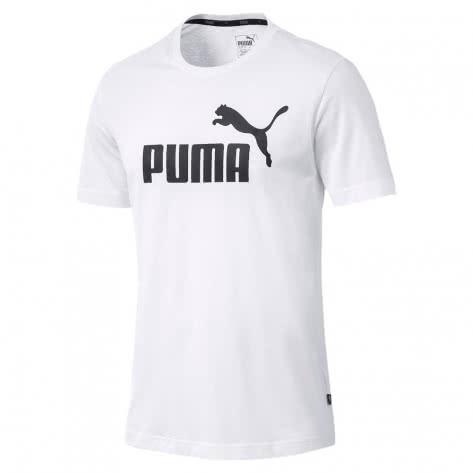 Puma Herren T-Shirt ESS Logo Tee 851740