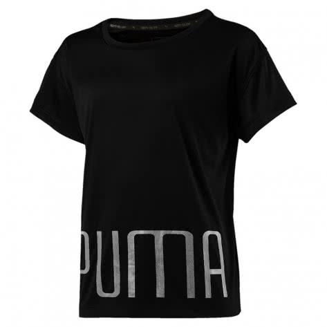 Puma Mädchen T-Shirt Explosive Tee G 851789 Puma Black Größe 128,140,152,164,176