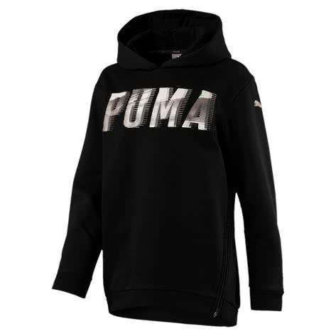 Puma Mädchen Kapuzenpullover Style Hoody G 851834-01 140 Cotton Black | 140