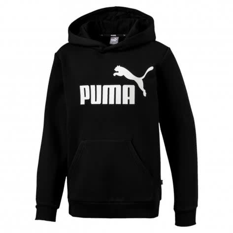 Puma Jungen Kapuzenpullover ESS Logo Hoody FL B 852105-01 110 Cotton Black | 110