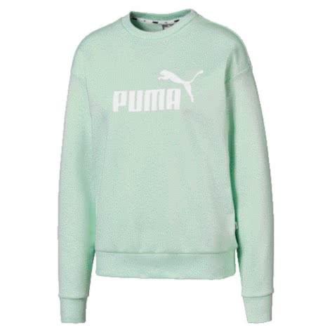Puma Damen Pullover ESS Logo Crew Sweat TR 853456-32 XL Mist Green   XL