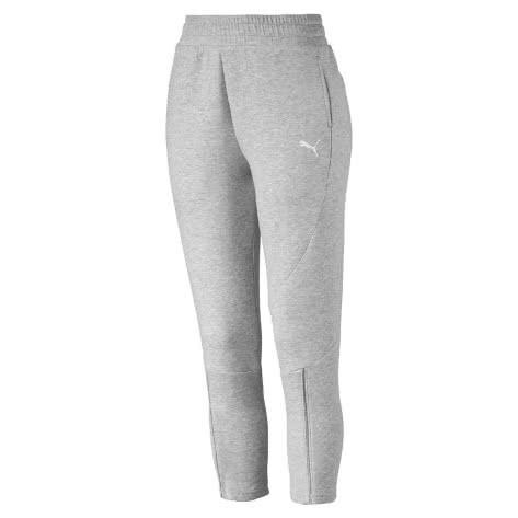 Puma Damen Trainingshose Evostripe Move Pants 854188-04 S Light Gray Heather | S
