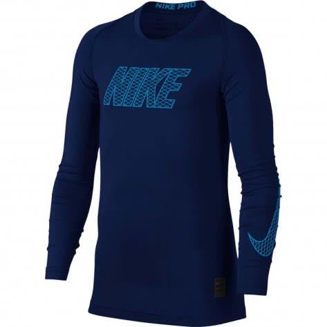 Nike Jungen Funktionsshirt Top Compression Crew Long Sleeve 858232