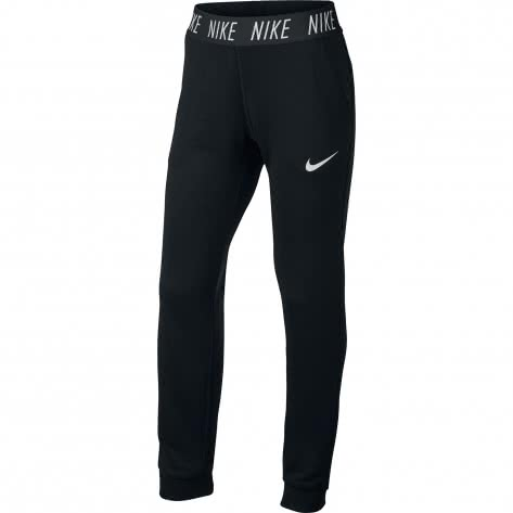 Nike Mädchen Trainingshose Dry Pant Core Studio 859969 Black White Größe 156 166